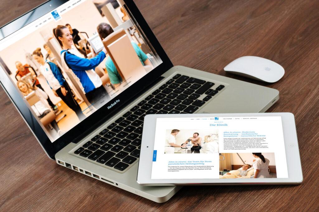 Bad Vigaun Medizinisches Zentrum Website