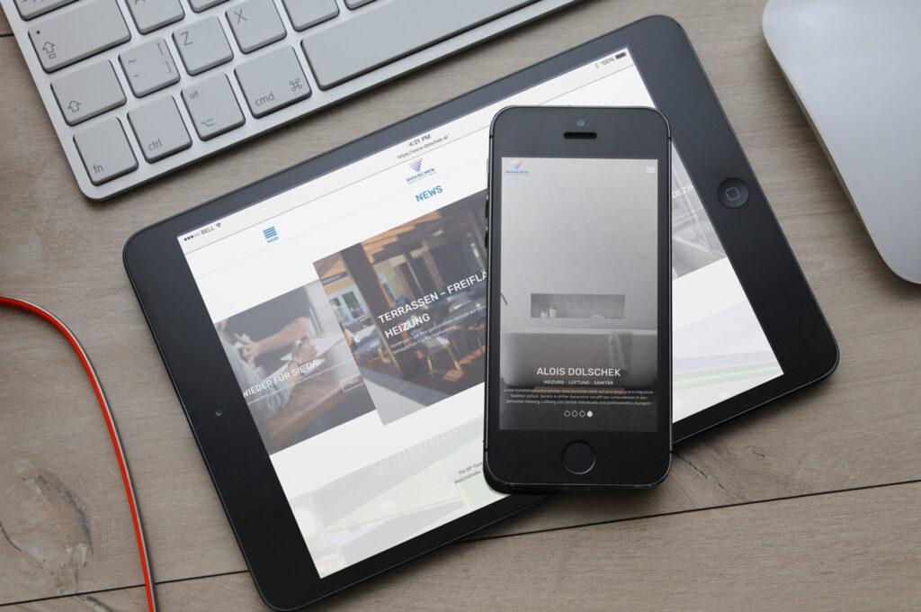 Dolschek Installateur Altenmarkt Website