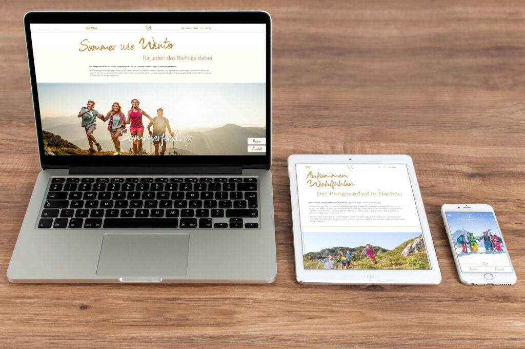 Hotel Pongauerhof Flachau Website