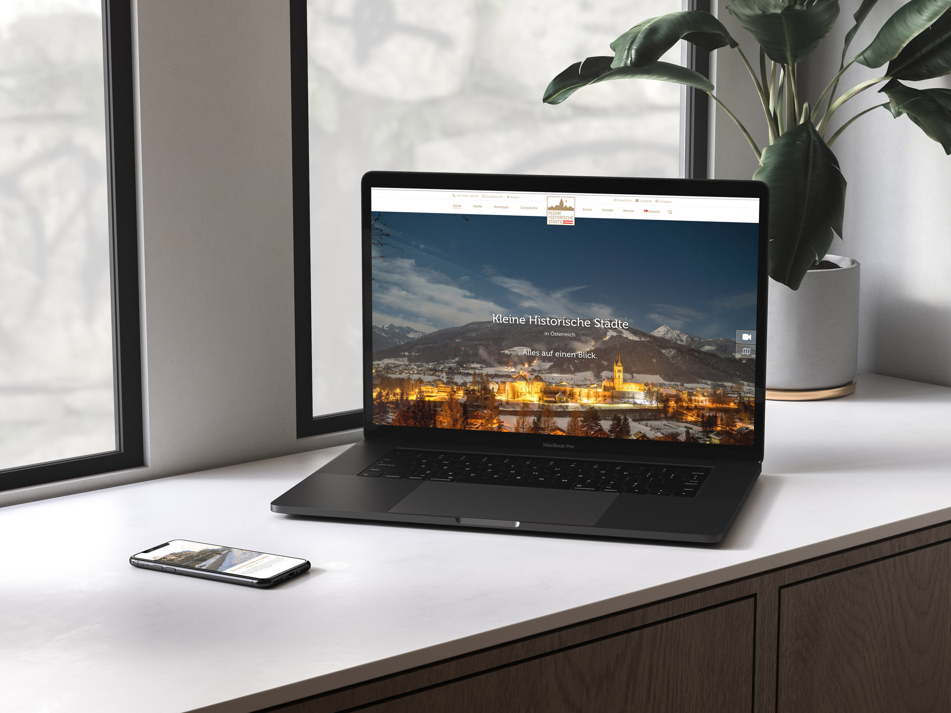 Kleine Historische Städte Website