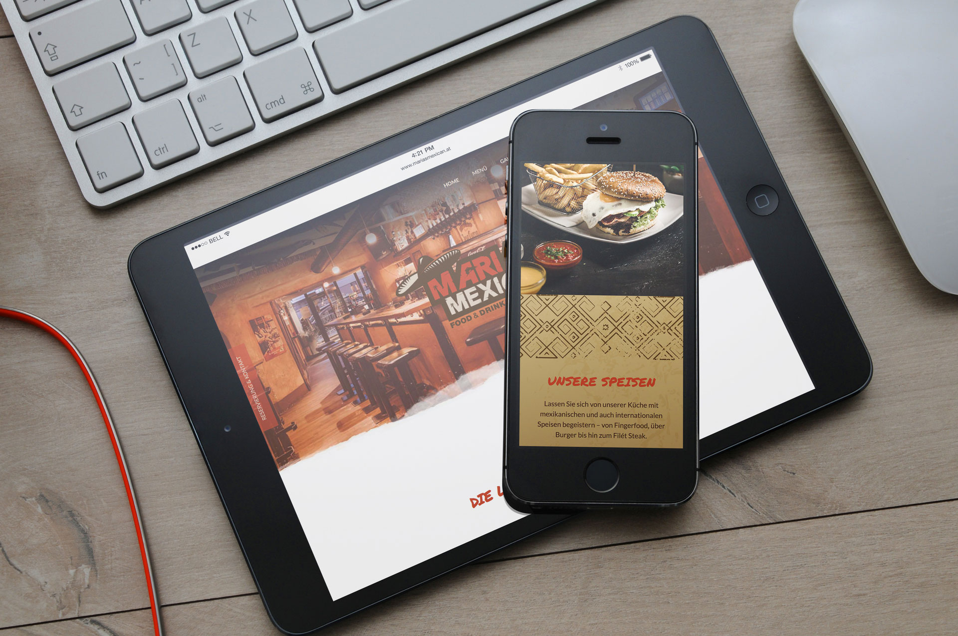 Restaurant Marias Mexican Schladming Website