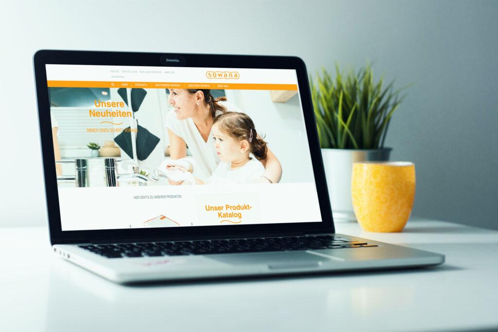 Sowana Website Webshop by Doppelpack