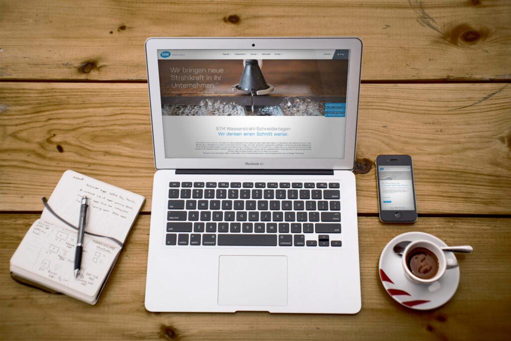 STM waterjet solutions Website
