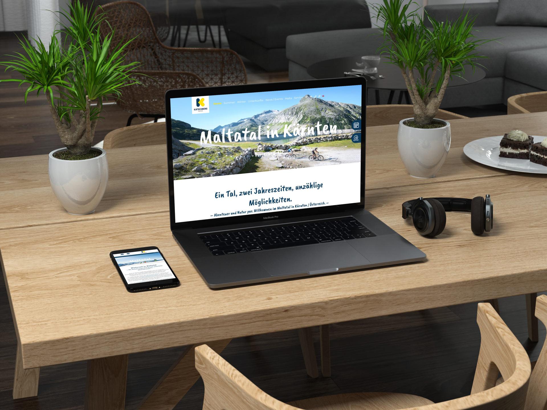 Tourismusverband Maltatal Website by Doppelpack Werbeagentur