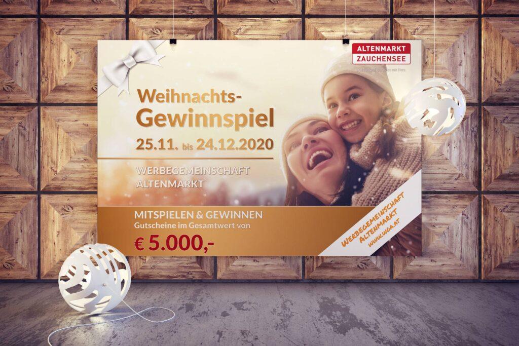 Werbegemeinschaft Altenmarkt Poster